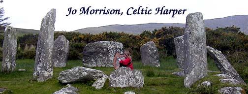 Jo Morrison's logo, photo in Ireland